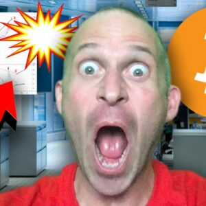 THIS INSANE BITCOIN PATTERN WILL BREAK RIGHT NOW!!!!!!! [this is my new trade..]