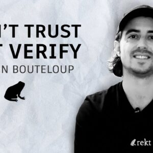 Who and what is rekt? with Julien Bouteloup @bneiluj